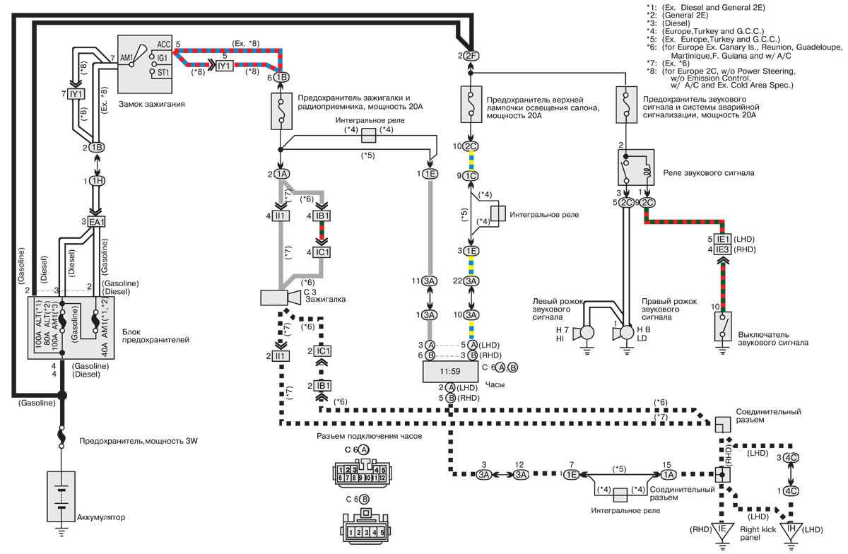 подробные схемы системы отопления