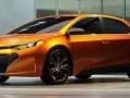 Toyota Corolla 2016 концепт боковая часть