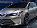 Toyota Corolla 2016 обновленные передний бампер и фары