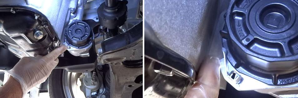 Как заменить масляный фильтр тойота королла 2012