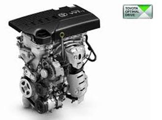 1NR-FE — четырехцилиндровый двигатель объемом 1329 см³