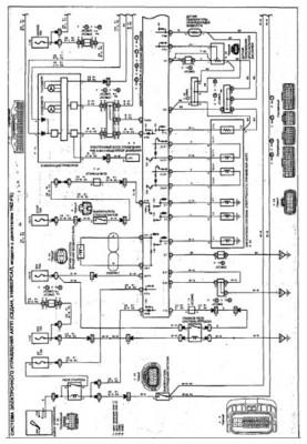 Схема электронного управления АКПП