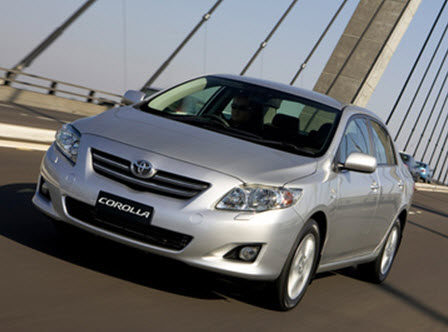 Toyota Corolla 2009 года выпуска