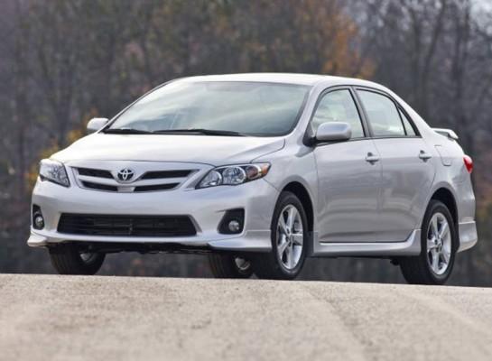 Toyota Corolla 2011 года выпуска
