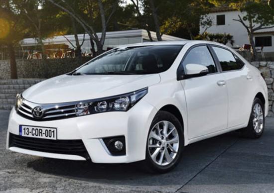 Внешний вид Toyota Corolla 2013
