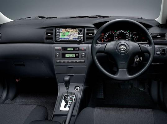 Салон Toyota Corolla Fielder