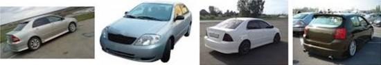 Модели автомобилей семейства Тойота Королла (E120)