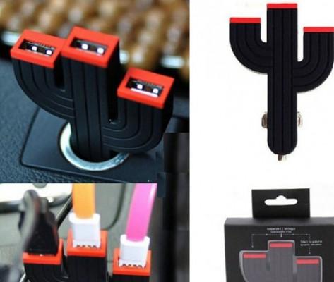 Зарядка от прикуривателя на USB-порт