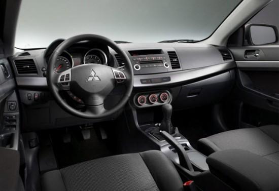 Роскошь и стиль в интерьере Mitsubishi Lancer Х