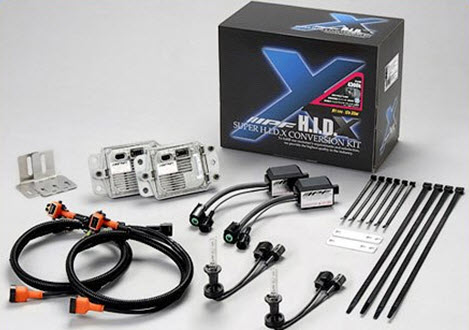 Комплект ксенонового света IPF hid XD41