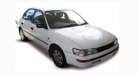 Автомобиль Тойота Королла Седан 1992 – 1996 гг.