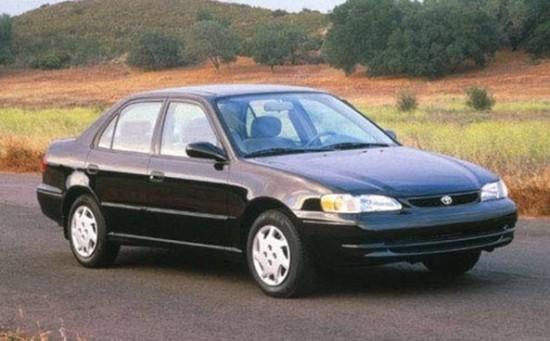 Автомобиль Тойота Королла Седан 1997 – 1999 гг.