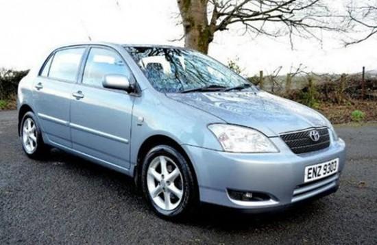 Corolla Универсал 2001 года выпуска