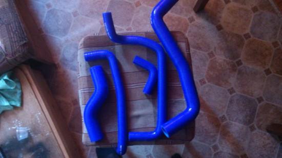 Резиновые патрубки системы охлаждения