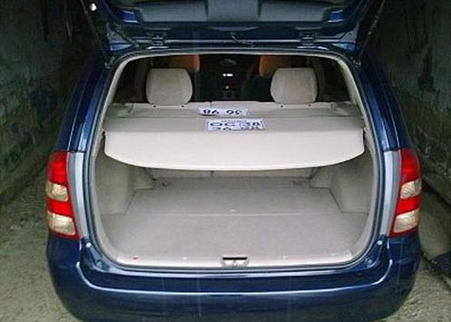 Багажник Toyota Fielder 2000