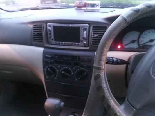Руль и приборная панель Toyota Fielder 2001
