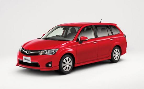 Спортивная версия Toyota Corolla Fielder 2014