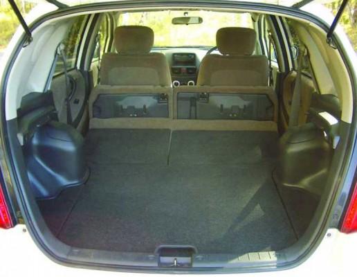 Багажник универсала Toyota Corolla Fielder