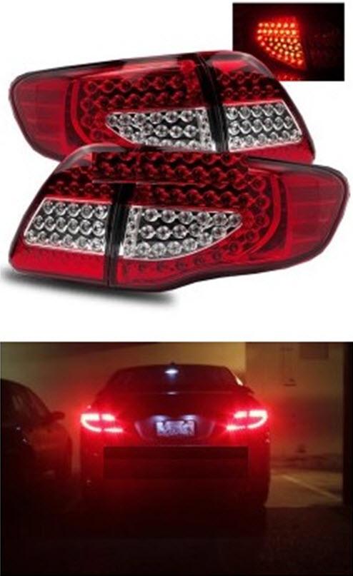 Фотодиодные фонари на Toyota Corolla АЕ110