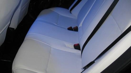 Задний ряд сидений Тойота Королла 112