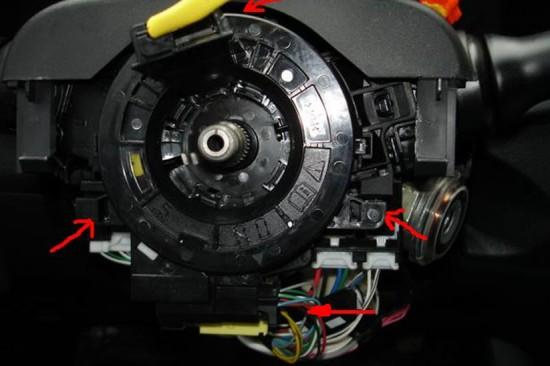 Защелки крепления витого кабеля
