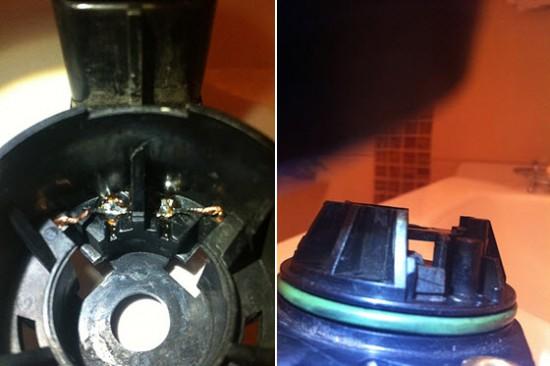 Установка и расположение щеток электромотора актуатора сцепления