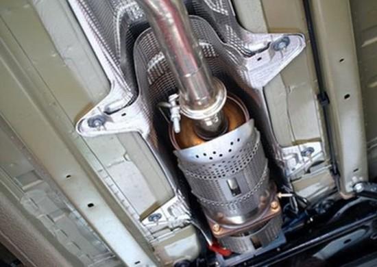 Катализатор выхлопных газов