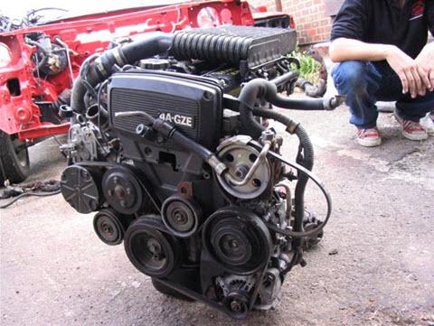 Двигатель 4A-GZE