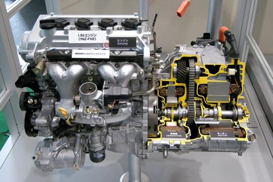 Двигатель 1NR-FXE