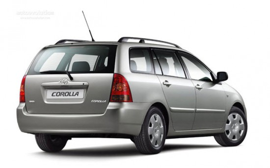 Вместительная Toyota Corolla Wagon