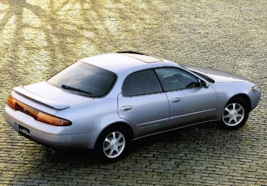Toyota Corolla Ceres: вид сзади