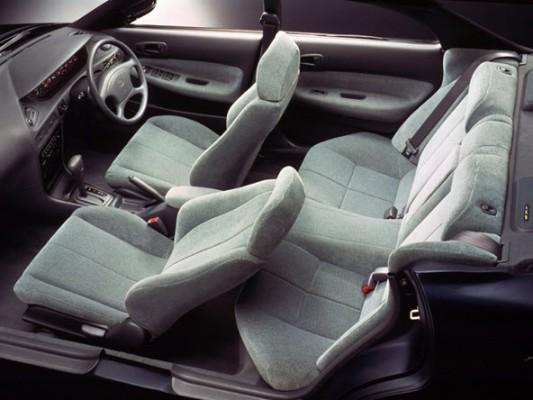 Интерьер Toyota Corolla Ceres
