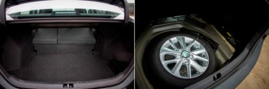 Багажник модели Тойота Королла 2014 года выпуска