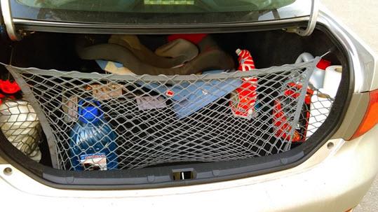 Багажник с сеткой