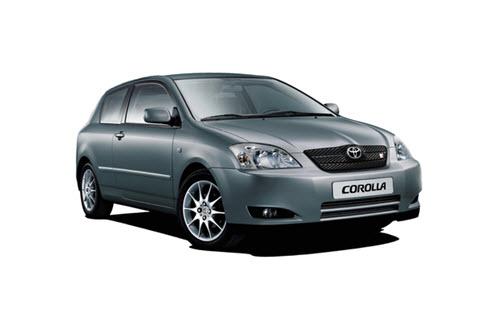 Toyota Corolla в кузове «хэтчбек»