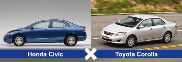 Honda Civic ili Toyota Corolla