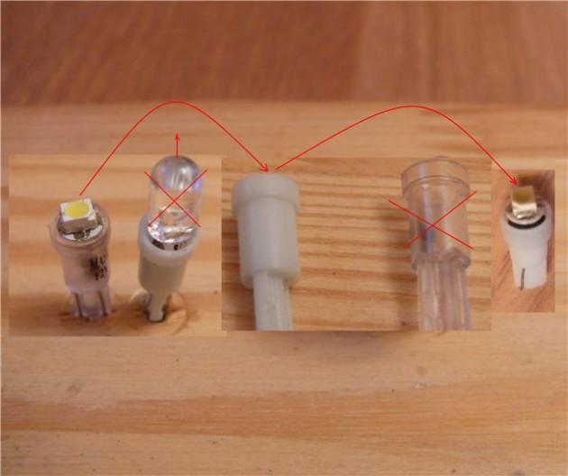 Пластиковые оболочки ламп