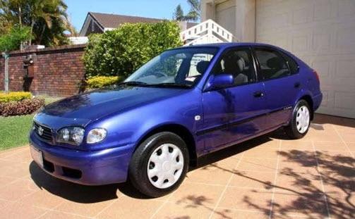 Тойота Королла 1997 модельного года