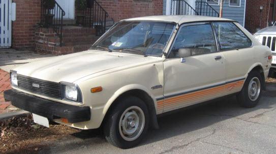 Toyota Corolla II 1978 года