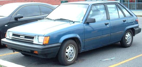 Toyota Tercel: второе поколение