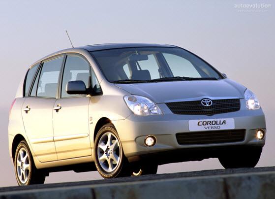 Toyota Corolla 2002 Verso