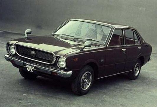 Toyota Corolla производства 1966 года
