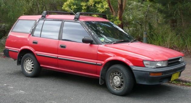 Универсал Тойота Королла 1988 года