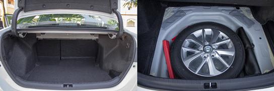 Багажник и запаска