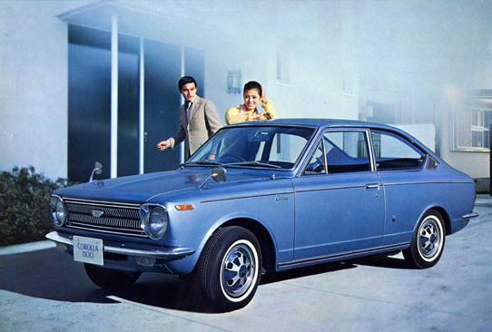 Toyota Sprinter 1968 года