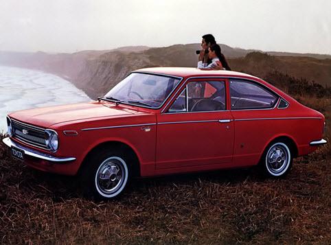 Тойота Спринтер 1970 года