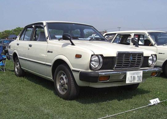 Toyota Sprinter: третье поколение