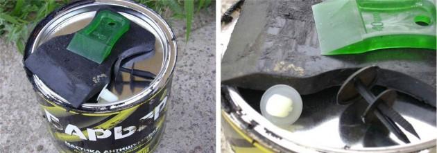 Набор материалов и инструментов для установки подкрылок