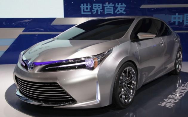Новая Тойота Королла 2016 года