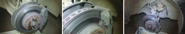 Тормозной диск колеса